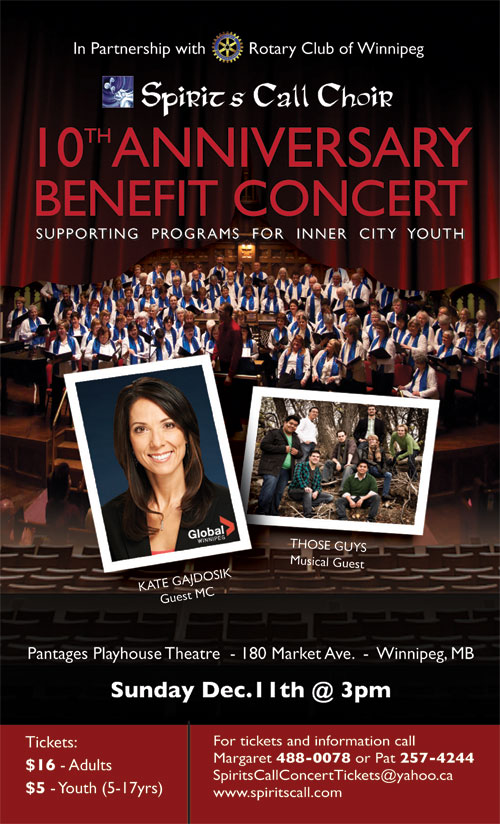 10th Anniversary Concert - December 11th, 2011