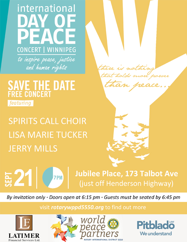 International day of peace concert